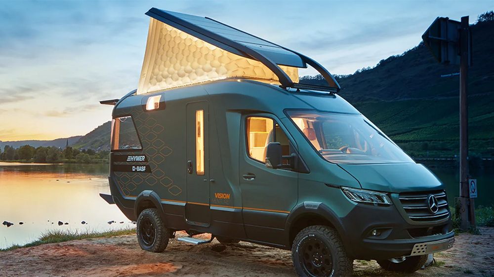 Hymer and BASF's VisionVenture camper concept