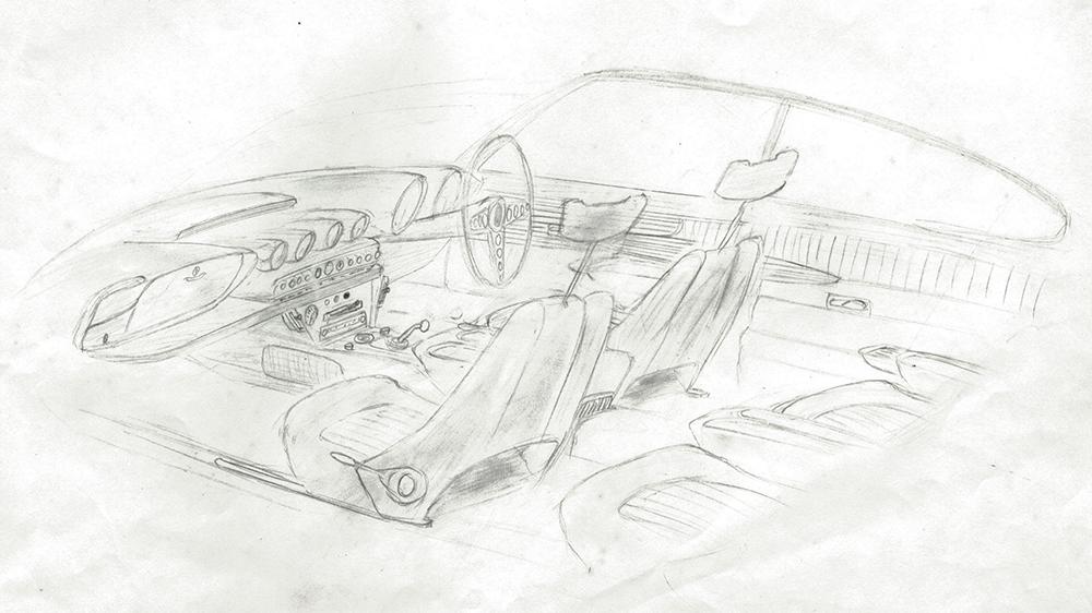 Ian Callum Sketch