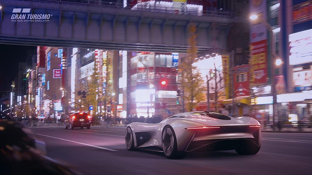 The Jaguar Vision Gran Turismo Coupé