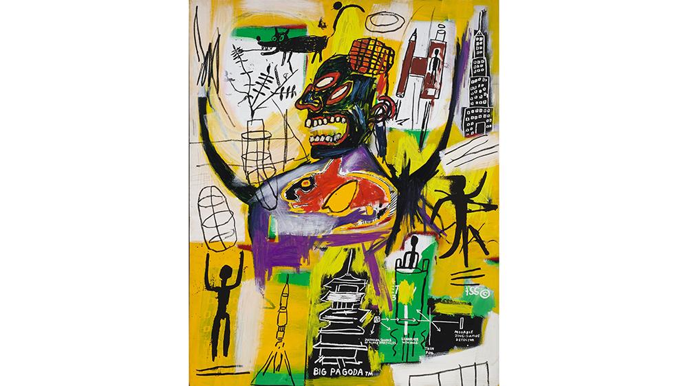 Jean Michel Basquiat's 1984-Pyro