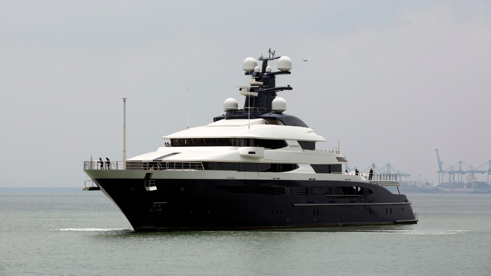 Tranquility, Jho Low's former superyacht