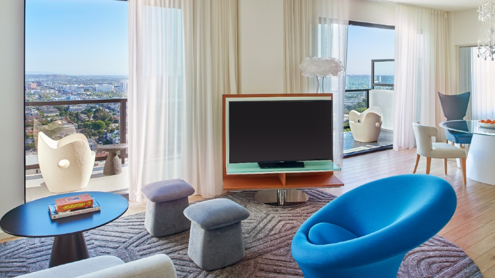 Penthouse Suite Mondrian Los Angeles