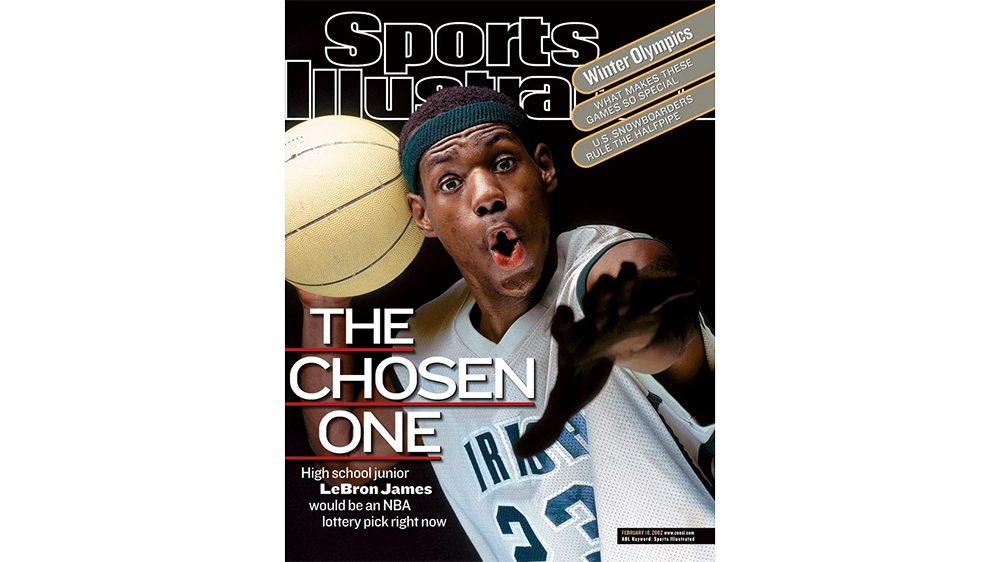 The February 10,2002 issue of Sports Illustrated