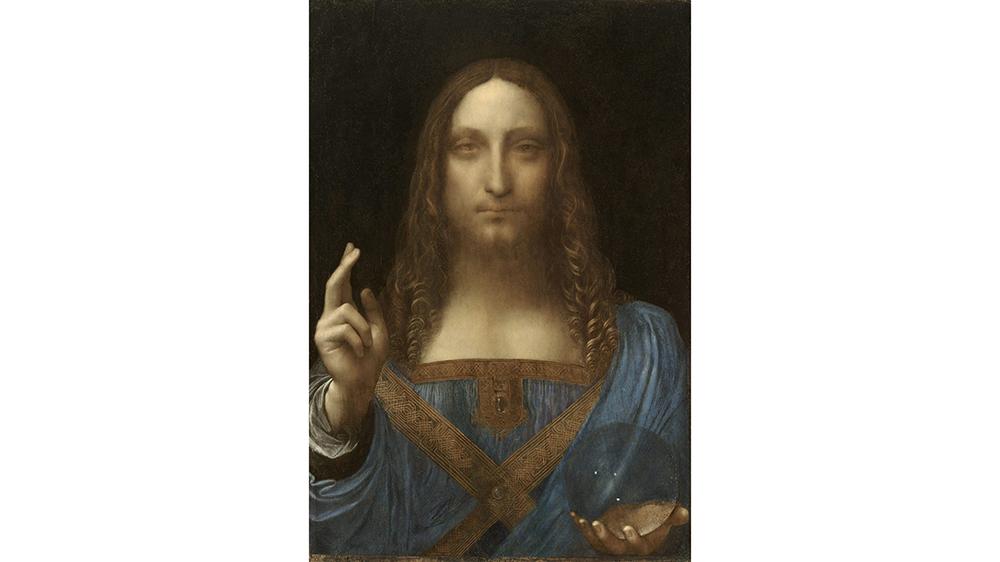 Leonardo da Vinci, Salvator Mundi, ca. 1500.