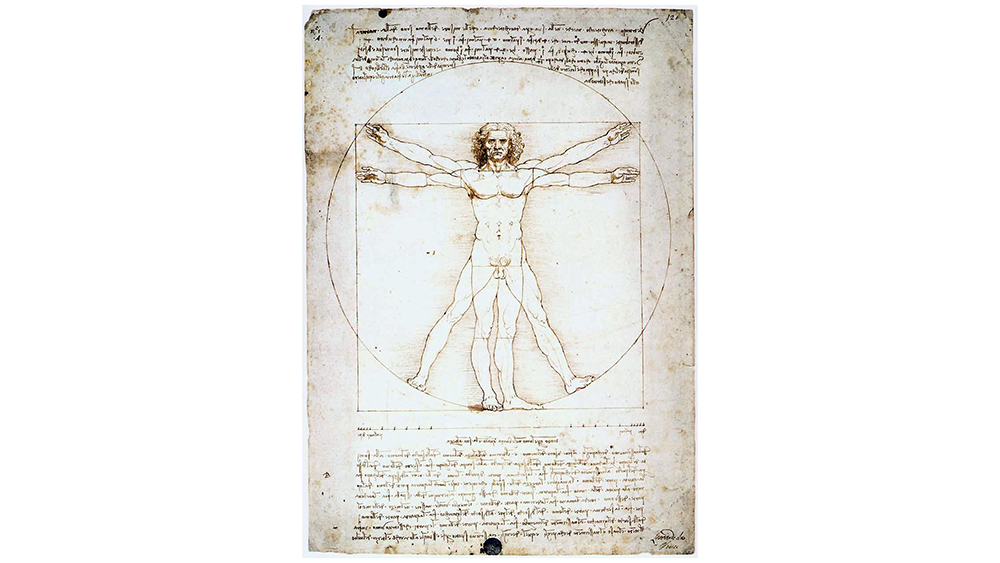 Leonardo da Vinci, Vitruvian Man, ca. 1490