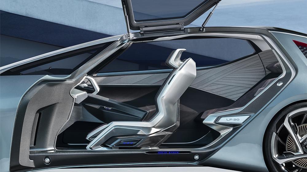 The Lexus LF-30 Electrified concept