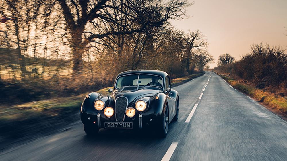 Lunaz's restored 1953 Jaguar XK120