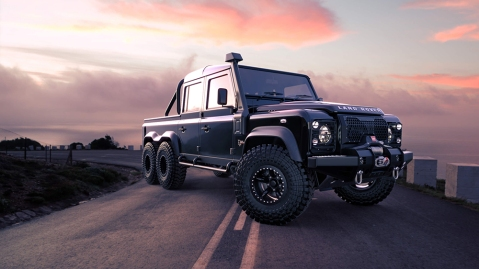 "Classic Overland's Land Rover ""Project Black Mamba"" Defender 110"