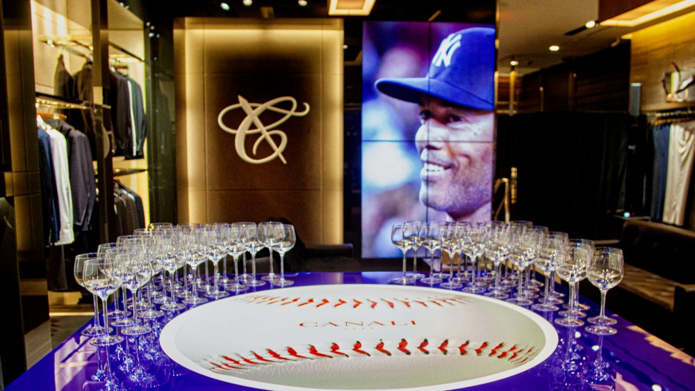 Canali and Robb Report's Celebration of Mariano Rivera