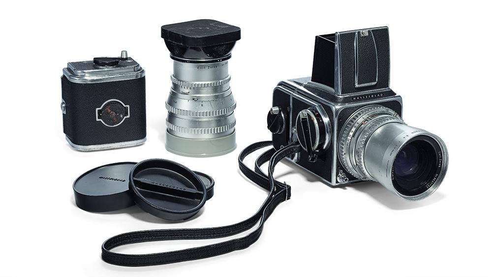 Douglas Kirkland's 1959 Hasselbad 500C camera