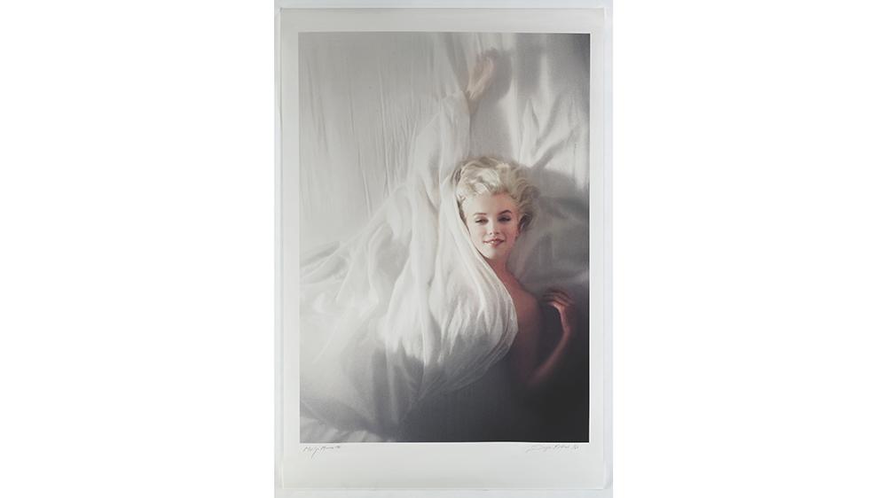 'MARILYN (Overhead)' by Douglas Kirkland