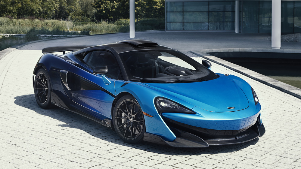 This already stellar McLaren 600LT takes Inspiration from a comet.