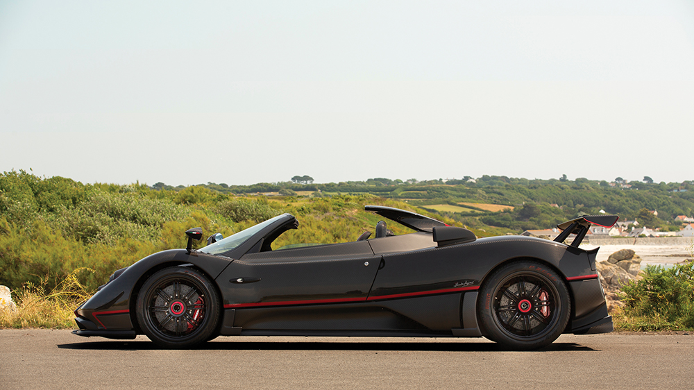 The 2017 Pagani Zonda Aether roadster