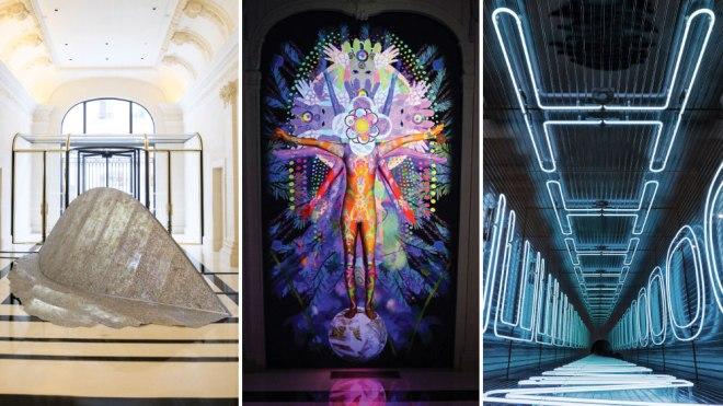 SOLI By Elise Morin, Visionary Reality Portal By Saya Woolfalk, Iván Navarro's Art Piece 'HOME'.