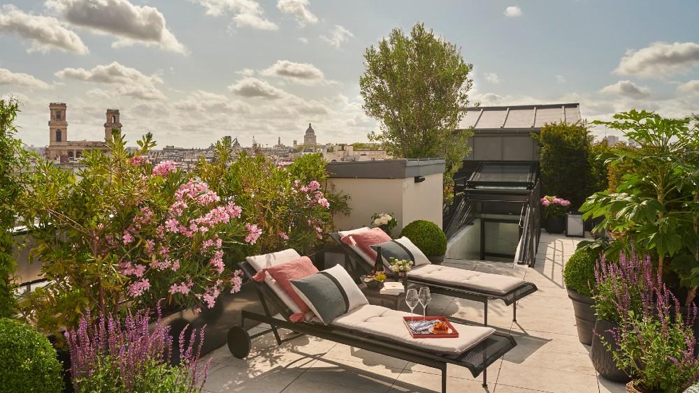 Lutetia Penthouse Rooftop Terrace