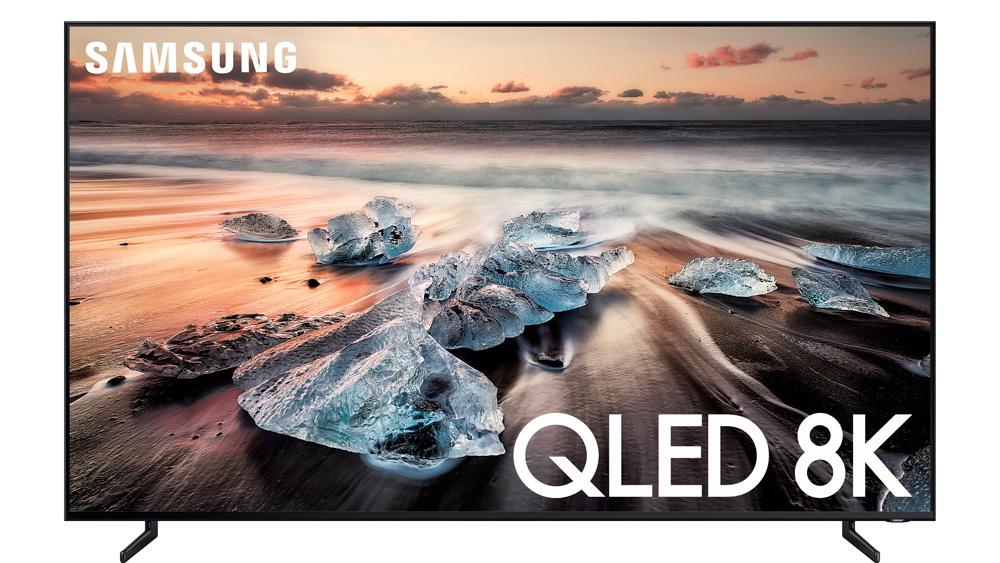 Samsung's Q900R 8K.