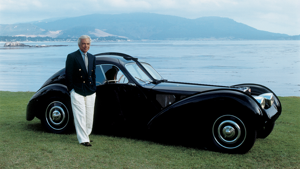 Ralph Lauren and Bugatti