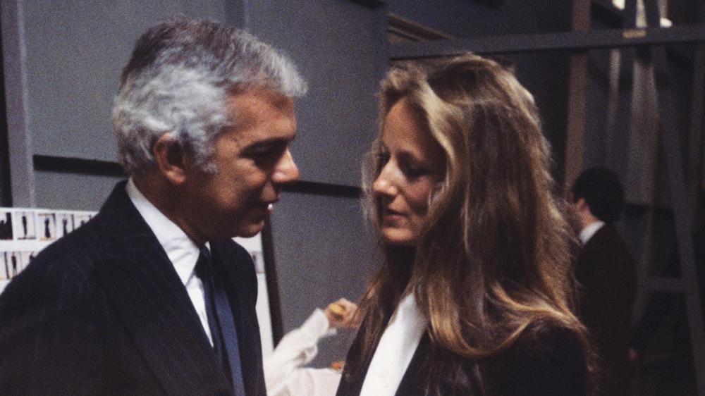 Ralph Lauren and wife