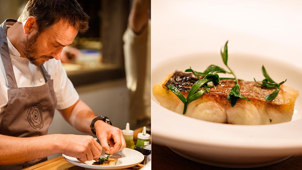Chef Jason Atherton at Robb Report's Red Sea Week.