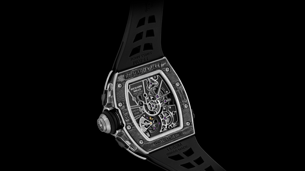 Richard Mille RM 62-01 Caseback