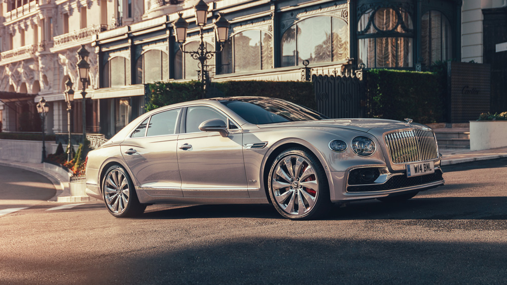 The 2020 Bentley Flying Spur.