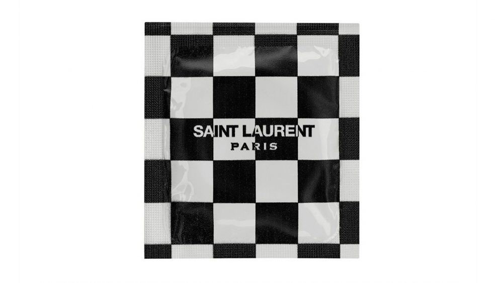 Saint Laurent Condom—Checks