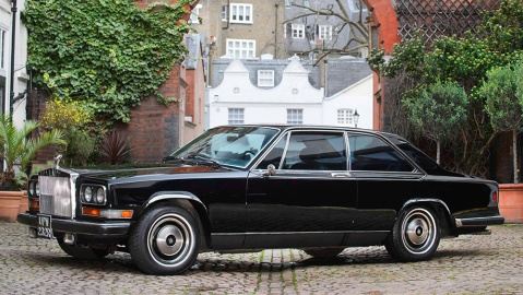 A 1977 Rolls-Royce that was once owned by Sammy Davis Jr.