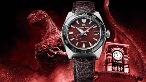 Grand Seiko Godzilla 65th Anniversary Edition