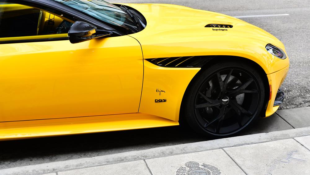 Aston Martin's Bijan Edition DBS Superleggera.
