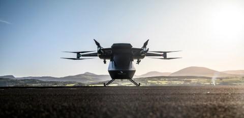 "Vertical Aerospace's ""Seraph"" VTOL Aircraft"