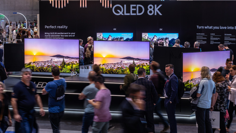 Samsung's exhibition at last year's IFA show in Berlin.