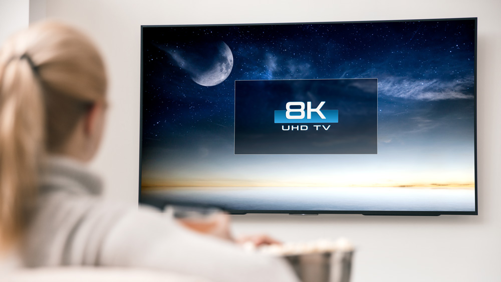 When it comes to selecting an 8K TV, size matters.