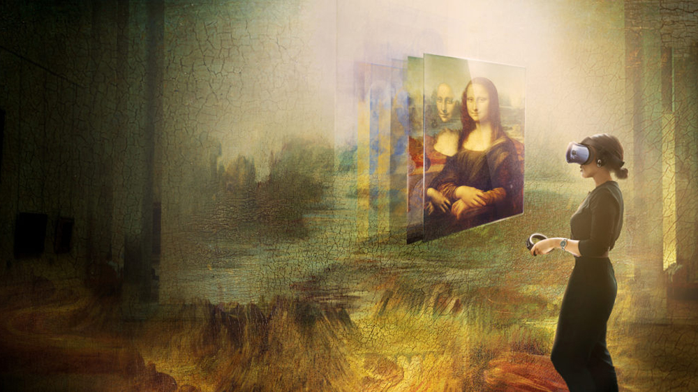 A look at the Louvre's Mona Lisa VR experience