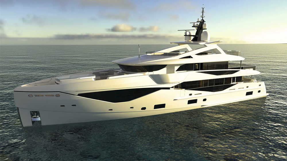 Sunseeker 133 Superyacht