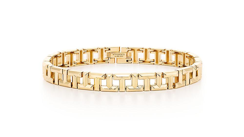 Tiffany & Co T True Gold Bracelet