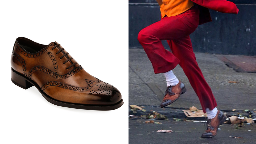 Tom Ford dress shoes and the 2019 Joker's shoes