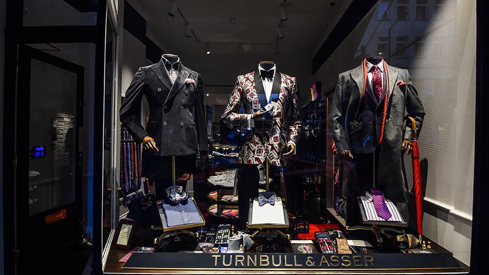 Turnbull & Asser in Mayfair, London
