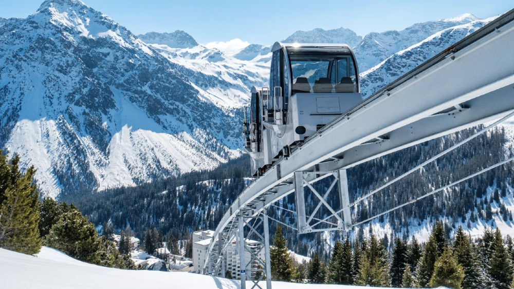 Ski Lifts Tschuggen Grand