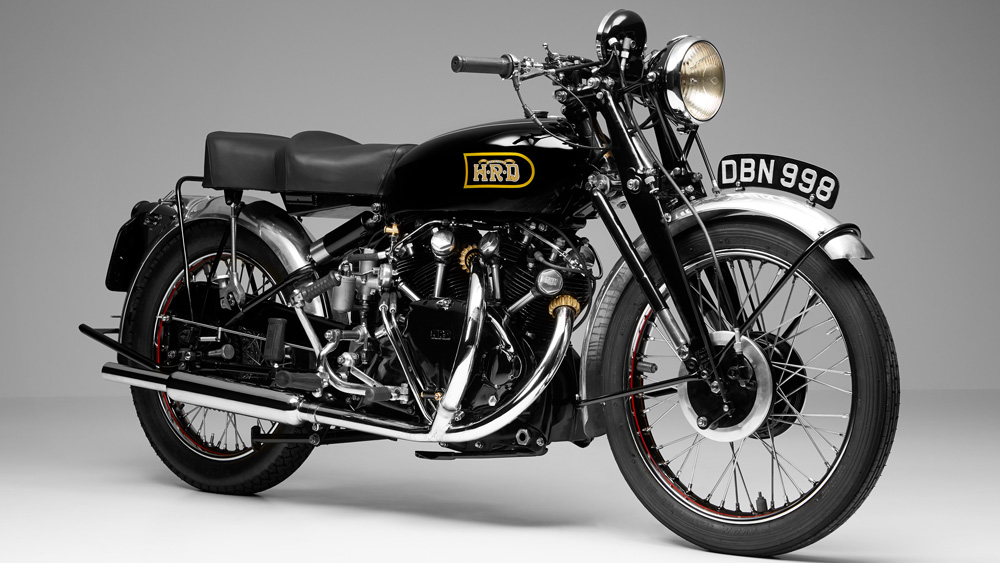 A 1949 Vincent 988 cc Black Shadow Series C.