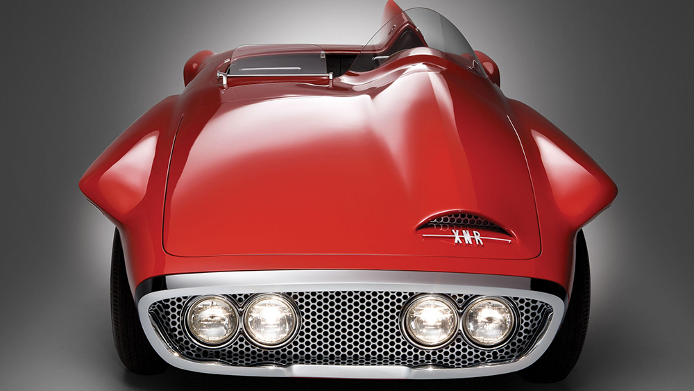 Virgil Exner's 1962 Plymouth XNR was an exercise in asymmetry