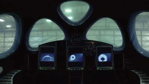 Virgin Galactic SpaceShipTwo vessel