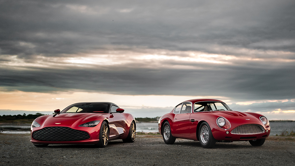 The Aston Martin DBZ GT Zagato and DB4 Zagato Continuation