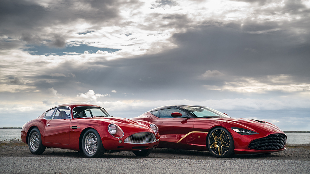 The Aston Martin DB4 Zagato Continuation and DBZ GT Zagato