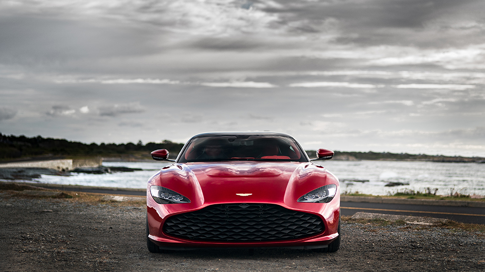 The Aston Martin DBZ GT Zagato
