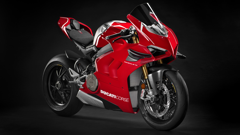 The 2019 Ducati Panigale V4 R.