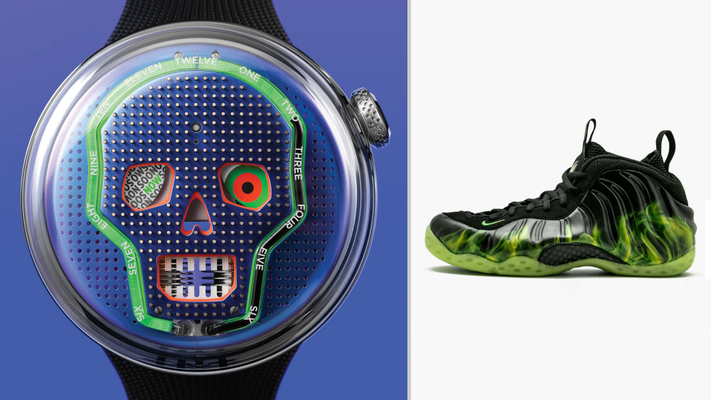 """HYT SOONOW paired with Nike Air Foamposite One """"ParaNorman"""""""