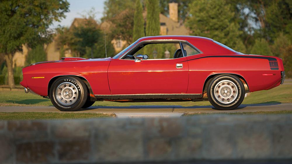 A 1970 Plymouth Hemi 'Cuda.