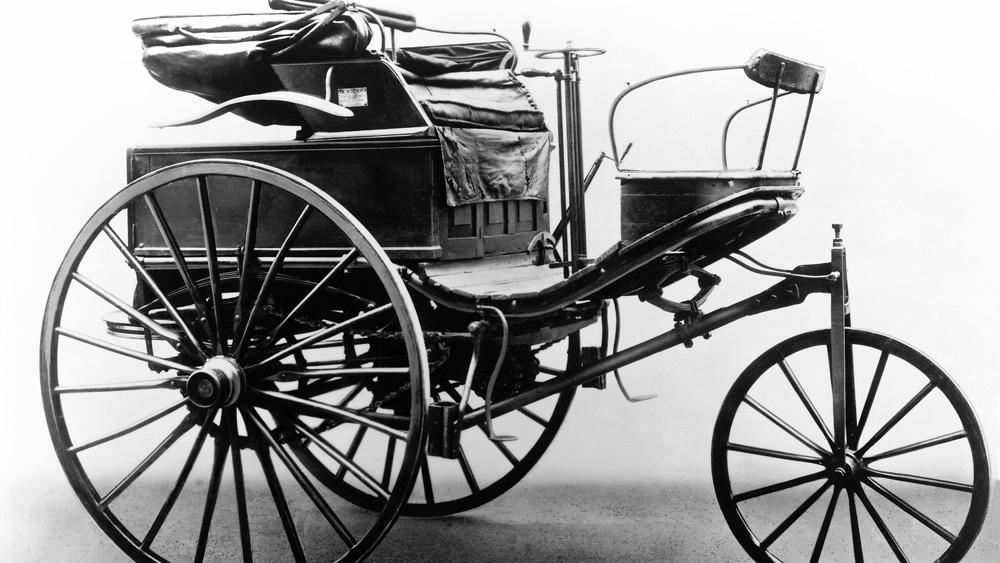 The 1888 Karl Benz Patent-Motorwagen No. 3.