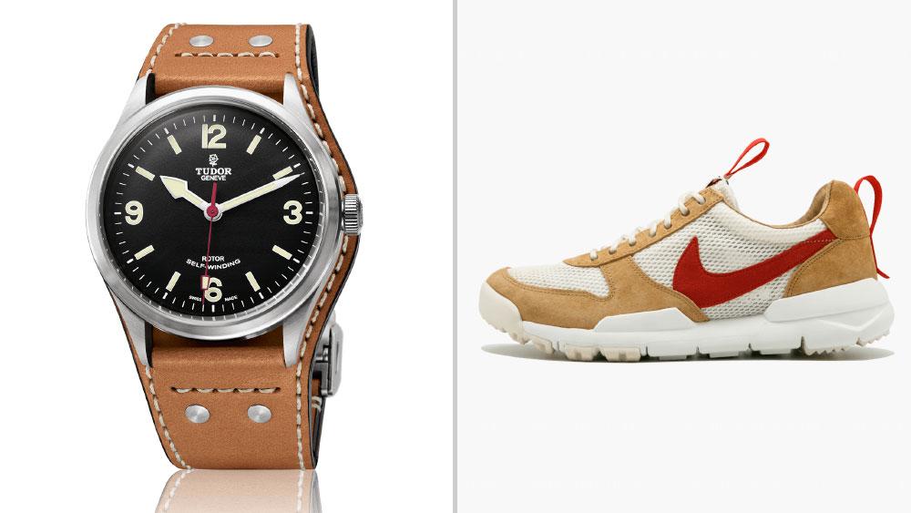 TUDOR Heritage Ranger paired with Tom Sachs x Nike Mars Yard 2.0