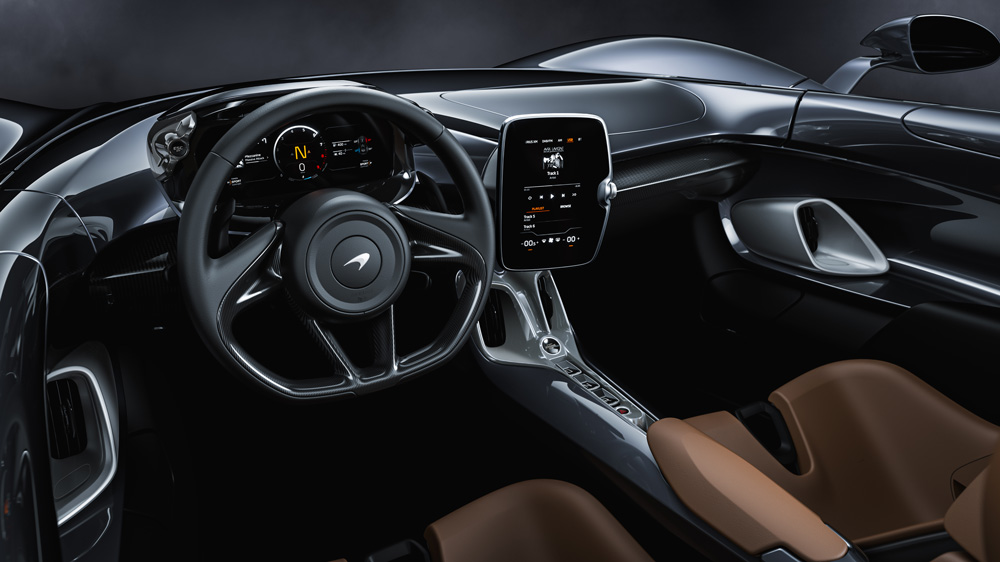The McLaren Elva.